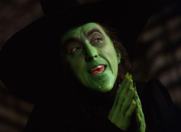 Wicked Witch Of The West Flying On Her Broom Wizard of Oz | Blu Moo...