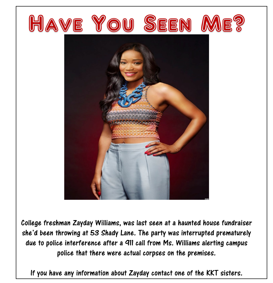 Zayday Missing 2